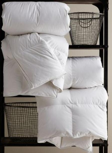 "10"" Baffle Boxstitch Summer Weight Twin Comforter - PrimaSera Down Alternative-935726"