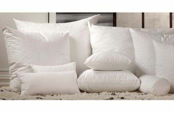Boxed-Corner Pillow Filler Duck Feather-979935