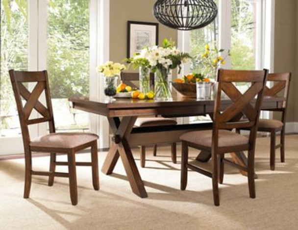 5-Piece Wood Kraven Dining Set-1055674