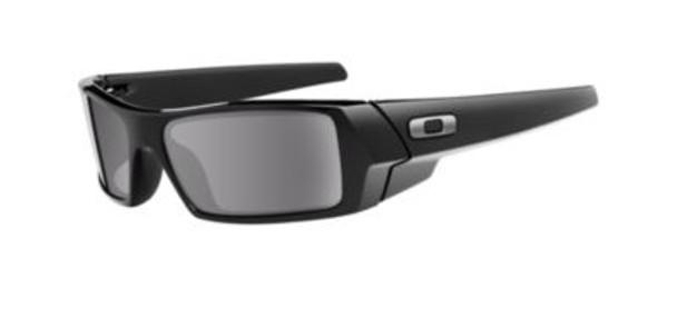 Men's Gascan Sunglasses-Polished Black/Grey-1876188