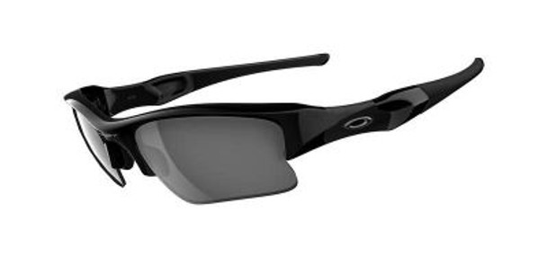 Men's Flak Jacket XLJ Sunglasses-Jet Black/Black Iridium-1876191