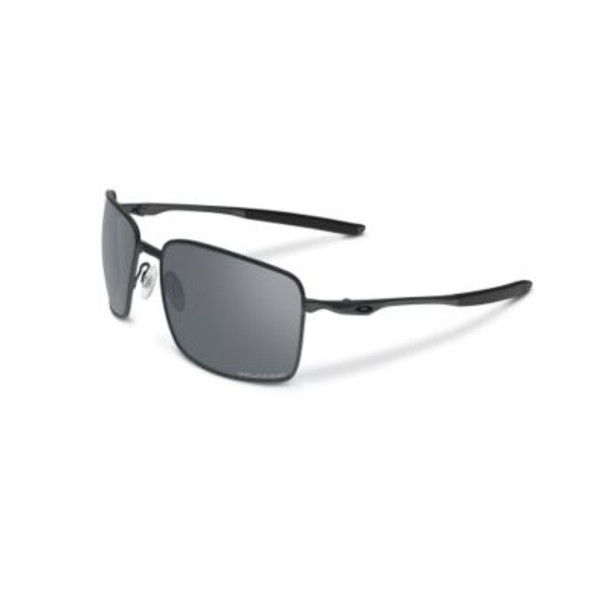 Polarized Square Wire Sunglasses-Carbon/Grey Polarized-1876215