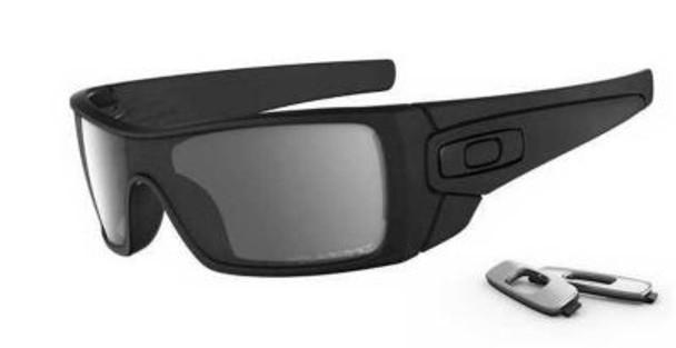 Polarized Batwolf Sunglasses-Matte Black/Polarized Black-1876236