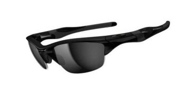 Half Jacket 2.0 Sunglasses-Polished Black/Black Iridium-1876244