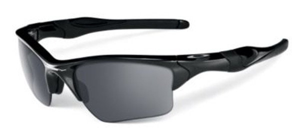 Half Jacket 2.0 XL Sunglasses-Polished Black/Black Iridium-1876246