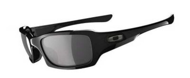Men's Fives Squared Sunglasses-Polished Black/Grey-1876268