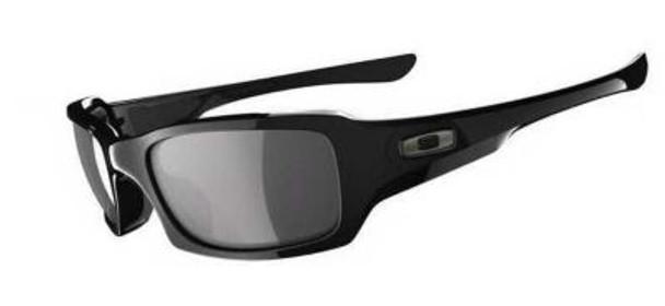 Polarized Fives Squared Sunglasses-Polished Black/Black Iridium Polarized-1876270