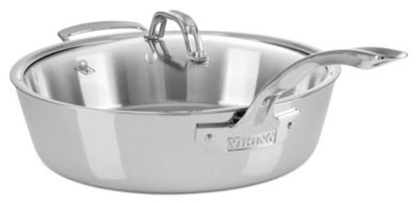 4.8qt Stainless Steel Saute pan-2083879