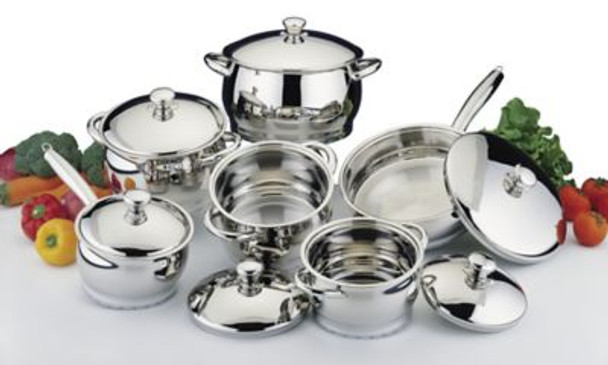 Cosmo 12 Piece Cookware Set-2237532