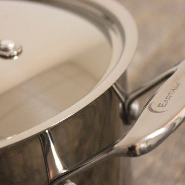 EarthChef Premium Stainless Steel Stockpot with Lid-2237621