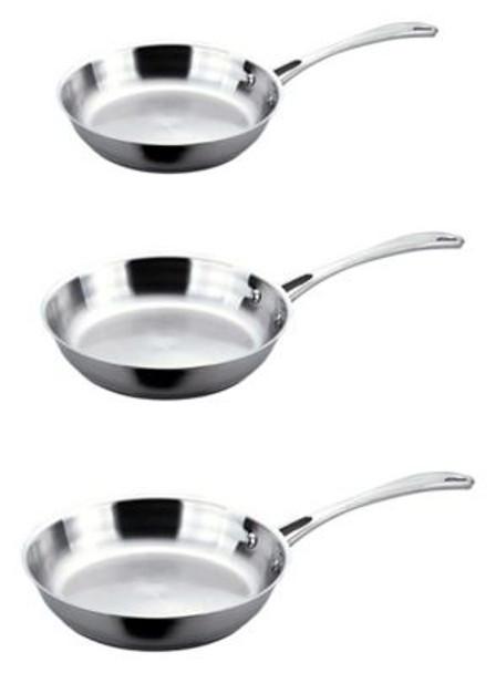 3-Piece Copper Clad Fry Pan Set-2237674