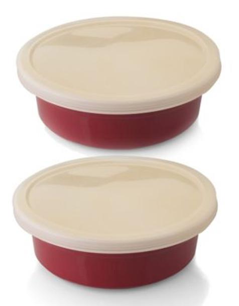 Geminis 2 Piece Round Dish Plastic Cover-2237770