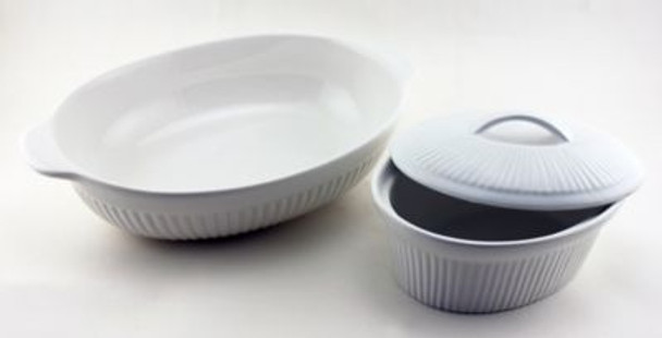 Bianco 2 Piece Oval Baking Dishes-2237795