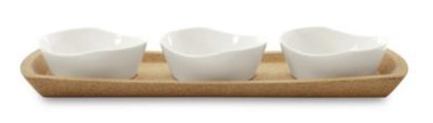 Eclipse Porcelain Cadreiz 4 Piece Snack Bowl Set-2237948