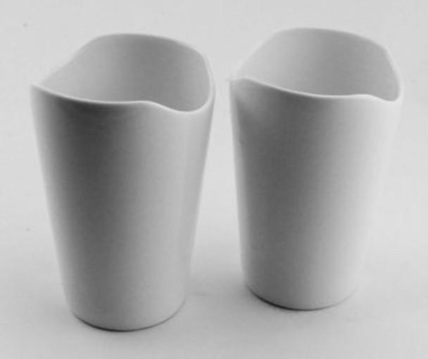 """Eclipse 4 3/4"""" Porcelain Cadreiz Vase-Set of 2-2237950"""