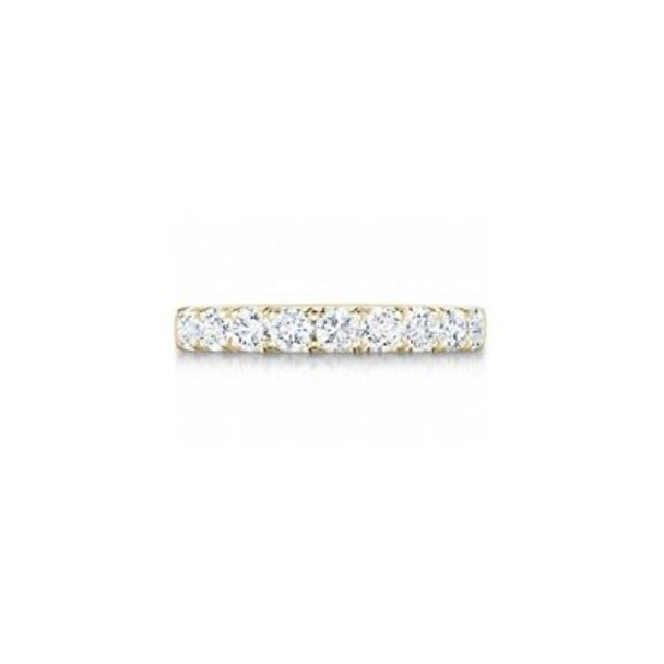 14K Yellow Gold Diamond Prong Set Anniversary Band-2506602