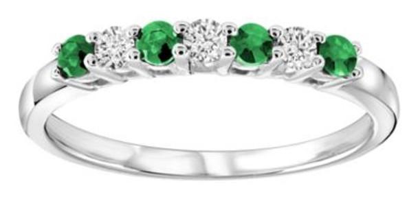 Emerald & Diamond Ring-2506623