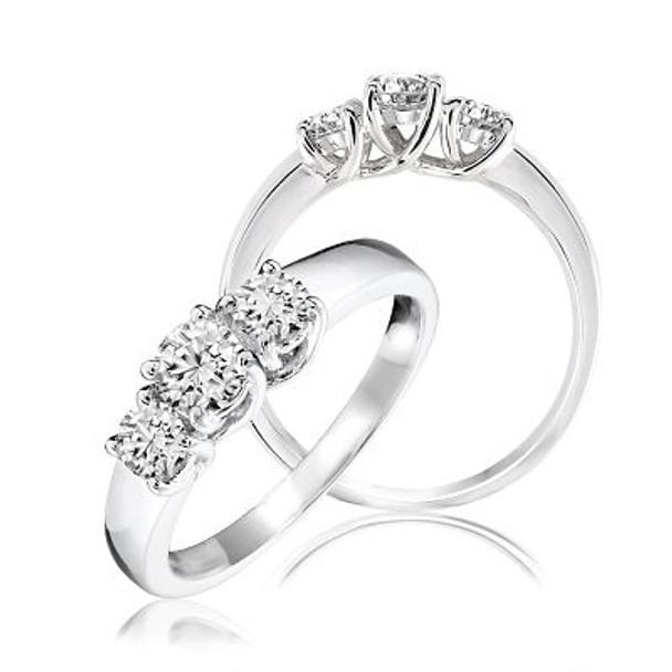 3-Stone Diamond Ring-2506658