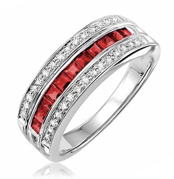 Ruby & Diamond Ring-2506663