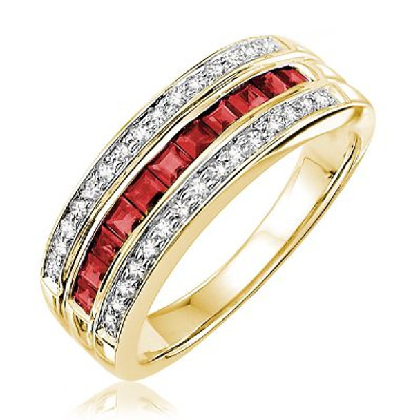 Ruby & Diamond Ring-2506665