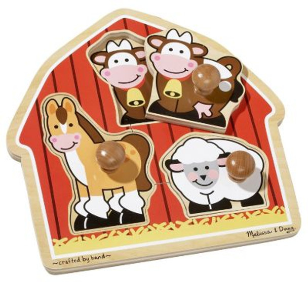 Barnyard Animals Puzzle-2543818