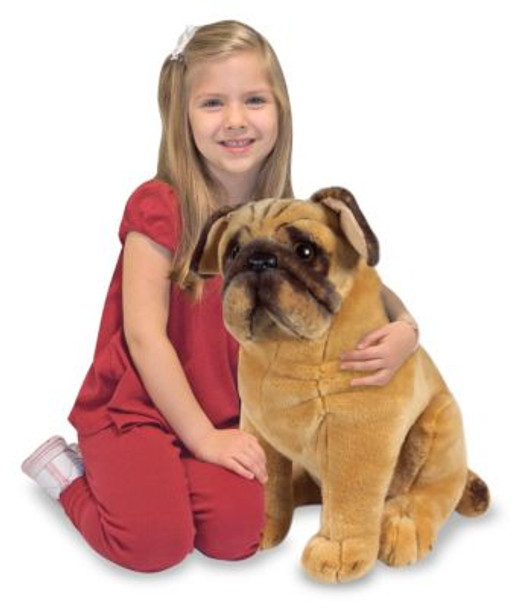 Pug Giant Stuffed Animal-2543839