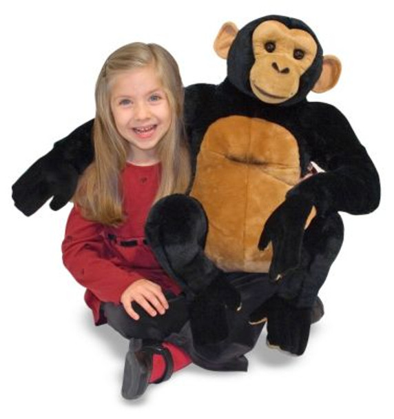 Chimpanzee Giant Stuffed Animal-2543846