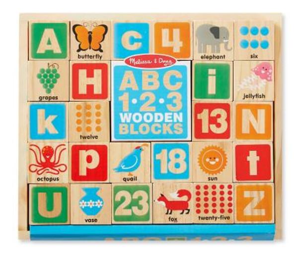 ABC 123 Wooden Blocks-2543860