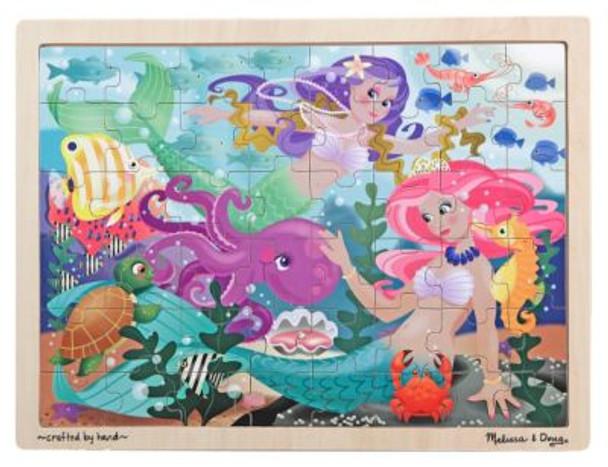 "Mermaid ""Fantasea"" Jigsaw Puzzle (48-Piece)-2543927"