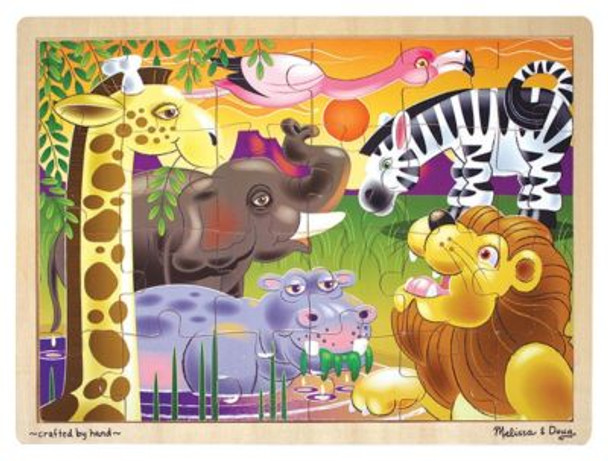 African Plains Jigsaw Puzzle (24-Piece)-2543929