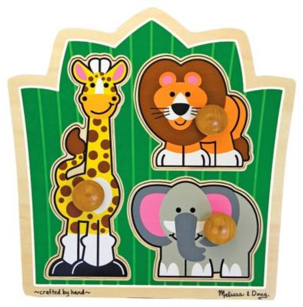 Jungle Friends Puzzle-2543967