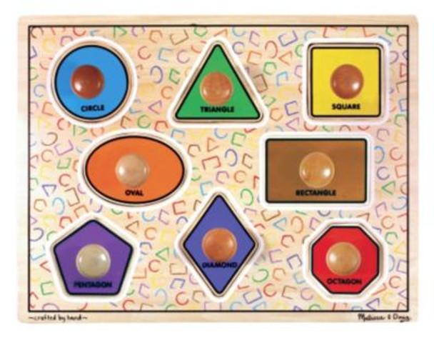 Geometric Shapes Puzzle-2543969