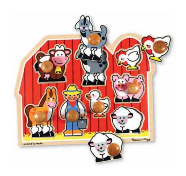Farm Friends Puzzle-2543970