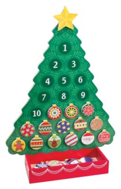 Countdown to Christmas - Wooden Advent Calendar-2543983