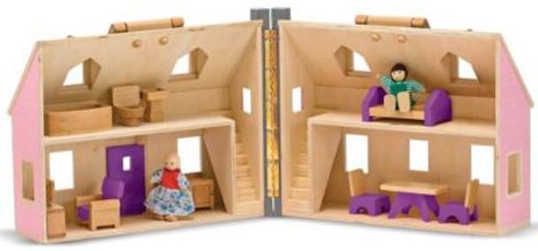 Fold & Go Dollhouse-2543987