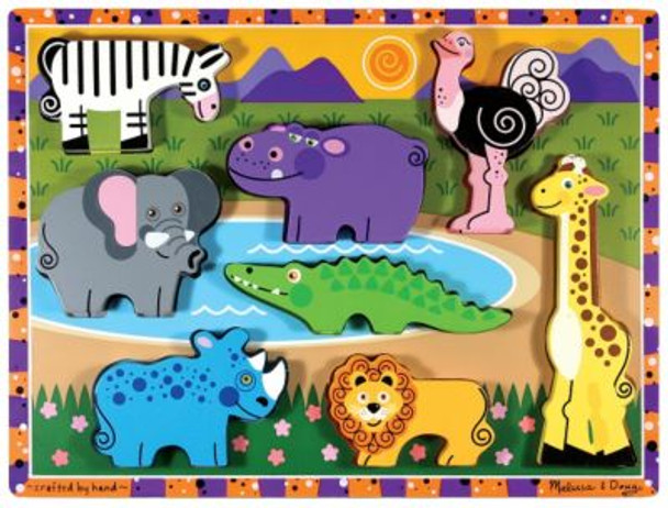 Safari Animals Chunky Puzzle-2543994