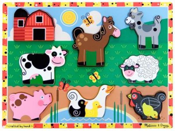 Farm Animals Chunky Puzzle-2543995