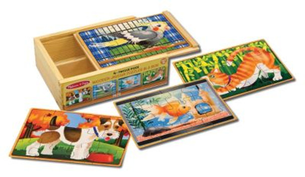 Pets Jigsaw Puzzles in a Box-2544023