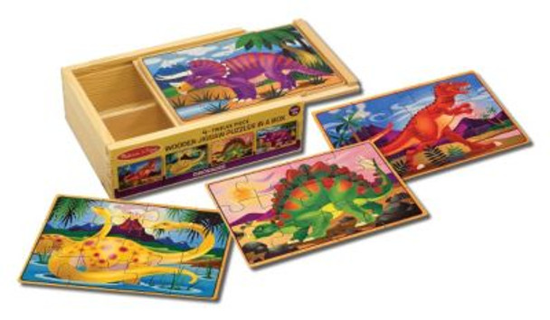 Dinosaurs Jigsaw Puzzles in a Box-2544024