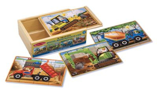 Construction Jigsaw Puzzles in a Box-2544025