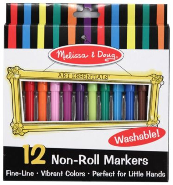 12 Non-Roll Markers-2544134