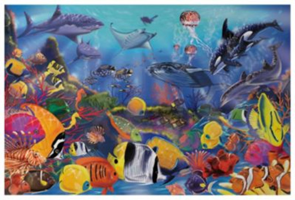 Underwater Floor Puzzle (48-Piece)-2544150