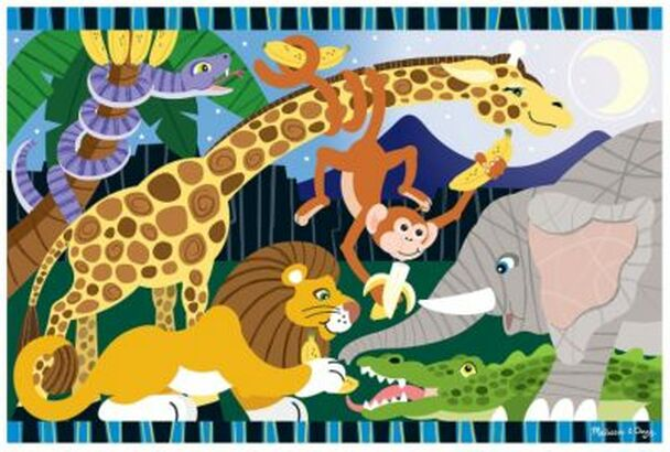 Safari Social Floor Puzzle (24-Piece)-2544186