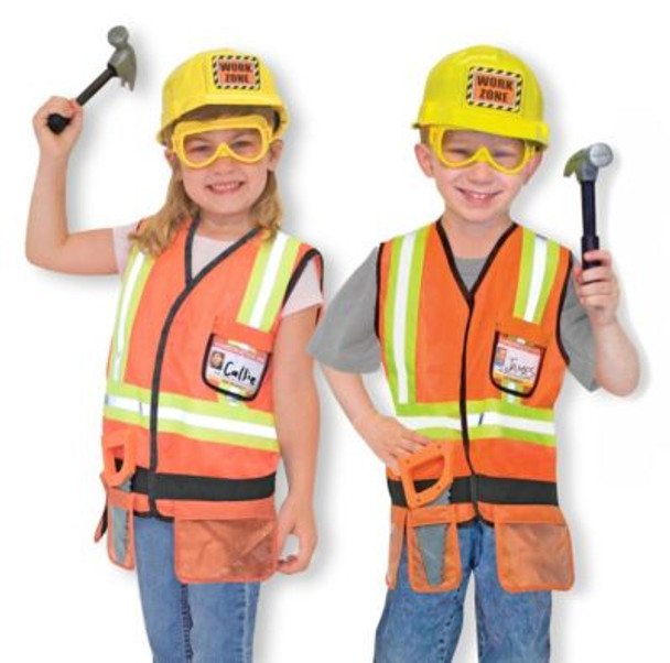 Construction Worker Role Play Costume Set-2544224