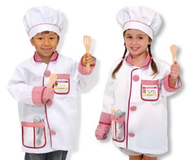 Chef Role Play Costume Set-2544225