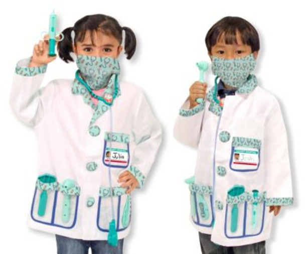 Doctor Role Play Costume Set-2544226