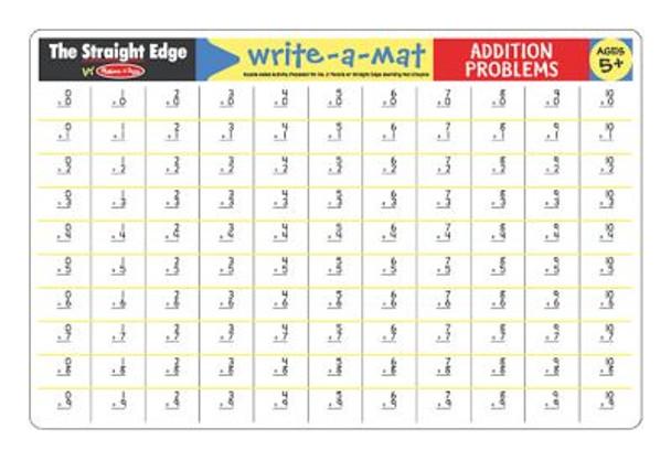 Addition Color-A-Mat (Bundle of 6)-2544272