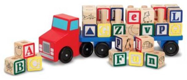 Alphabet Blocks Wooden Truck-2544301