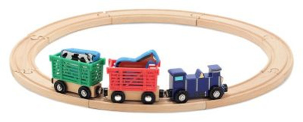 Farm Animal Train Set-2544420