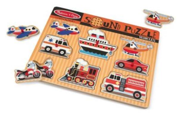 Vehicles Sound Puzzle-2544520